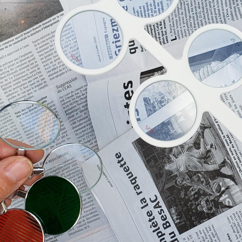 Découvrez chaque mois un nouvel article sur le monde de l'optique