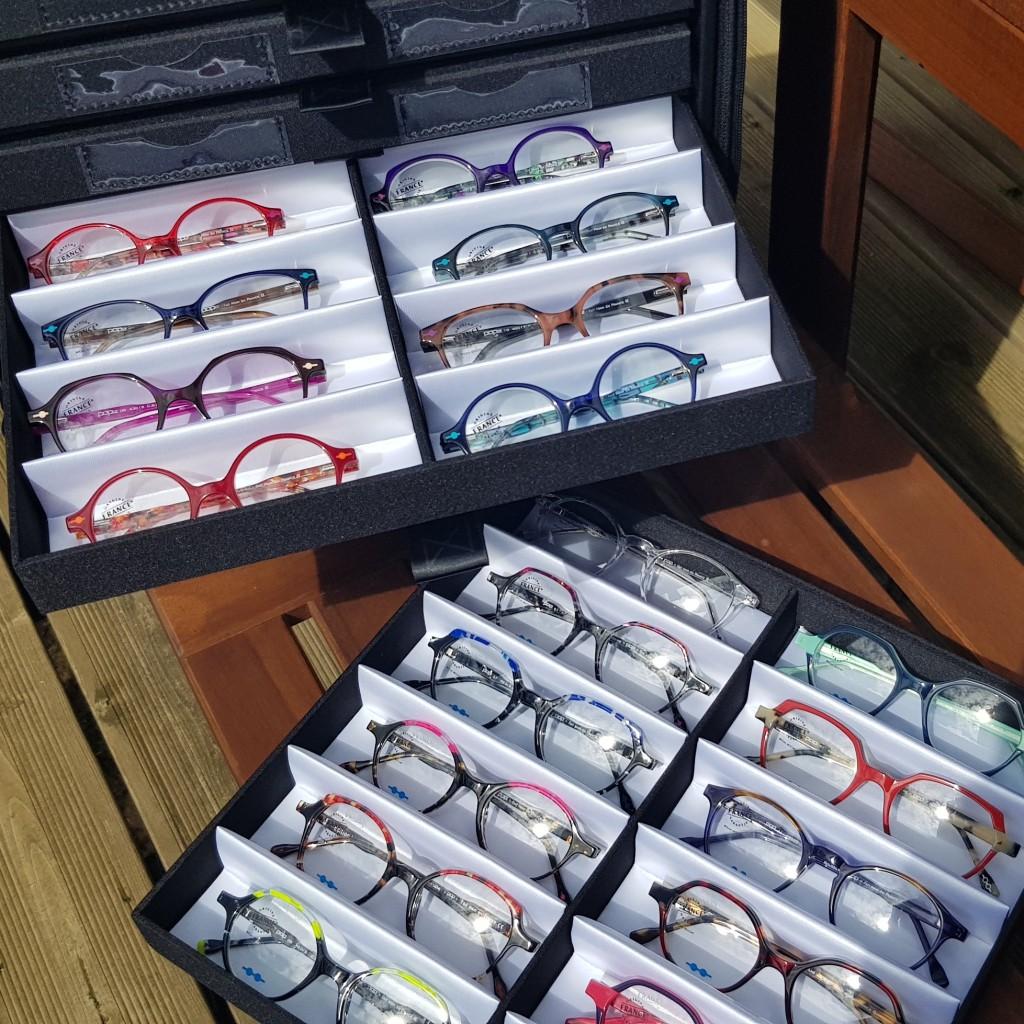 Large choix de lunettes